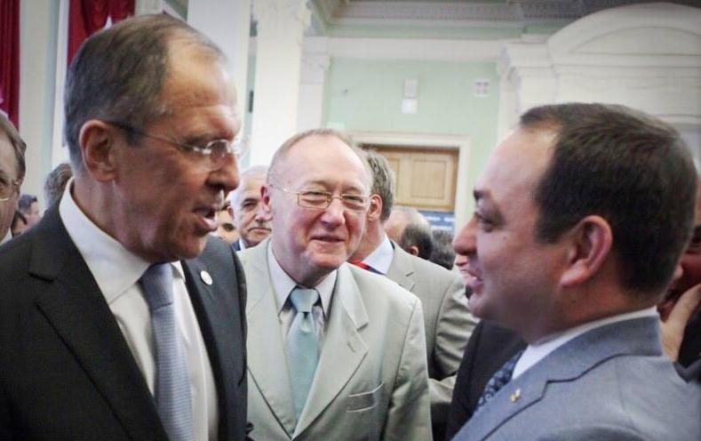 Знаур Гассиев принял участие в церемонии открытия Дипломатического клуба