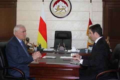 Встреча с Чрезвычайным и Полномочным Послом Южной Осетии в Венесуэле и Никарагуа Наримом Козаевым