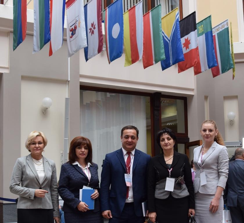 Делегация Республики Южная Осетия принимает участие в работе Центральной избирательной комиссии Российской Федерации