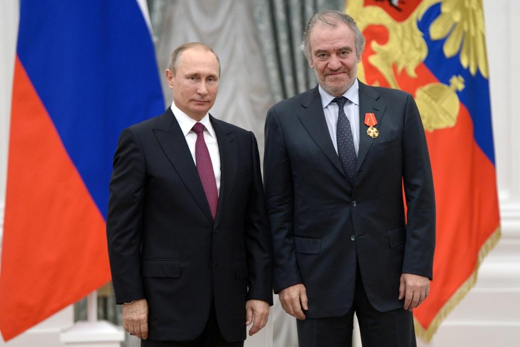 Валерий Гергиев награжден орденом Александра Невского