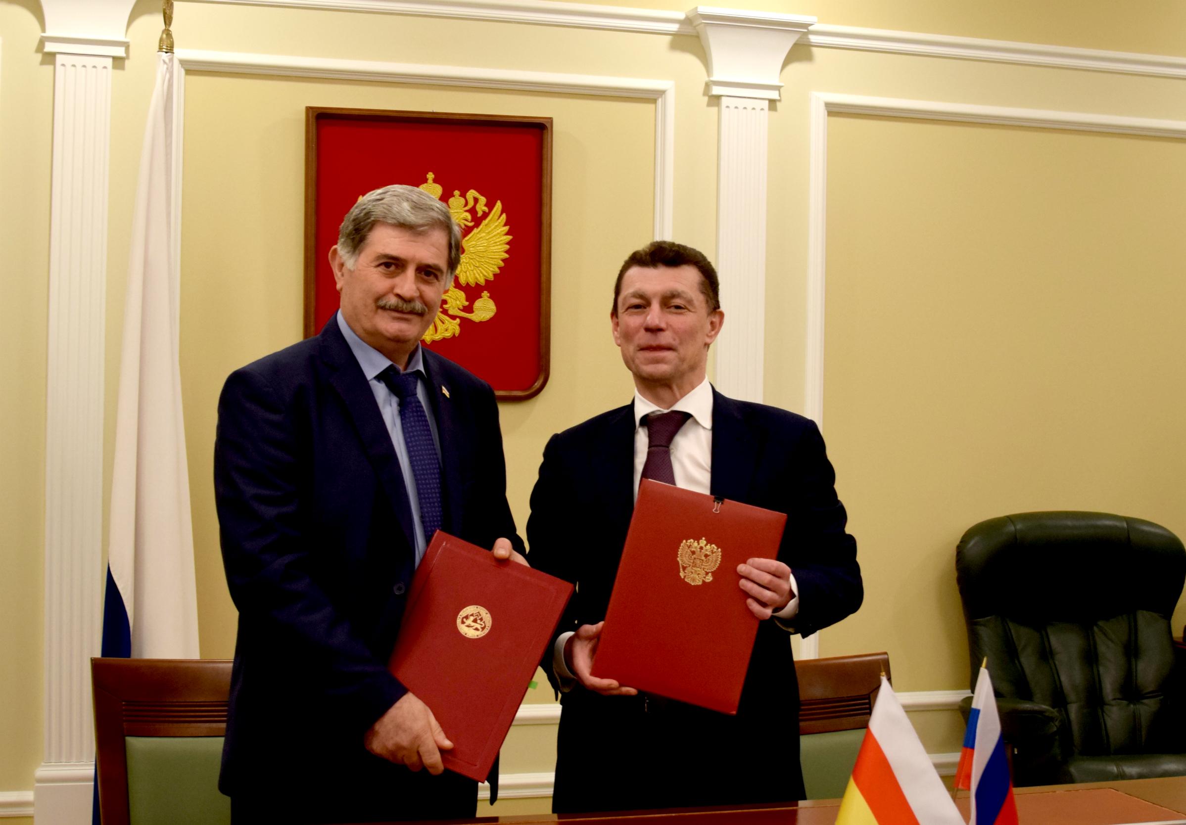 Состоялось подписание Соглашения о пенсионном обеспечении граждан Российской Федерации, постоянно проживающих в  Южной Осетии