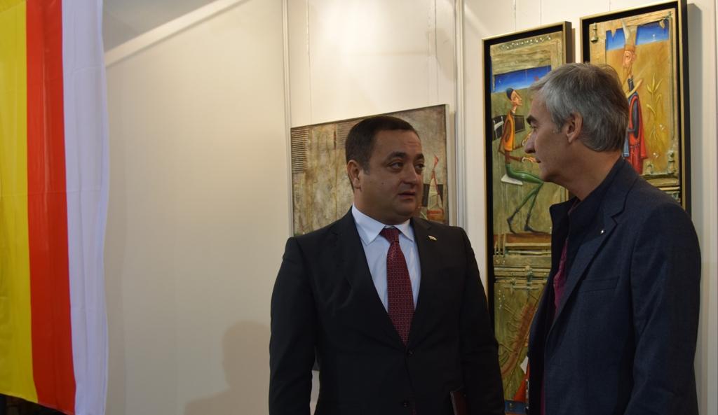 Южная Осетия и Сирия приняли участие в XXI Международной выставке современного искусства
