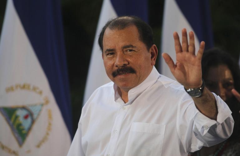 Знаур Гассиев принял участие в торжественном приеме по случаю победы на выборах Президента Никарагуа Даниэля Отрега