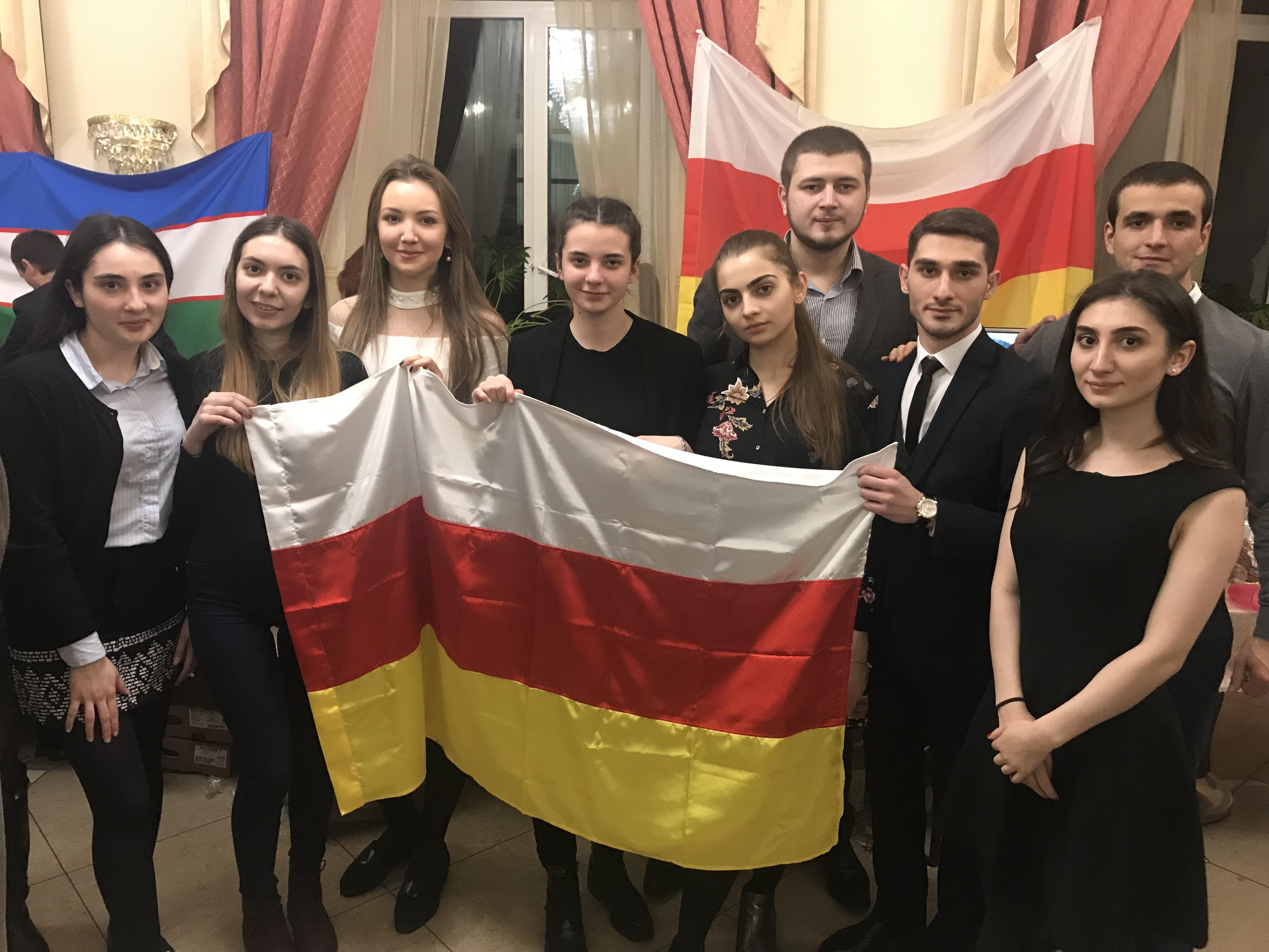 Будущие осетинские дипломаты приняли участие в ежегодном мероприятии «Вечер Дружбы Народов»