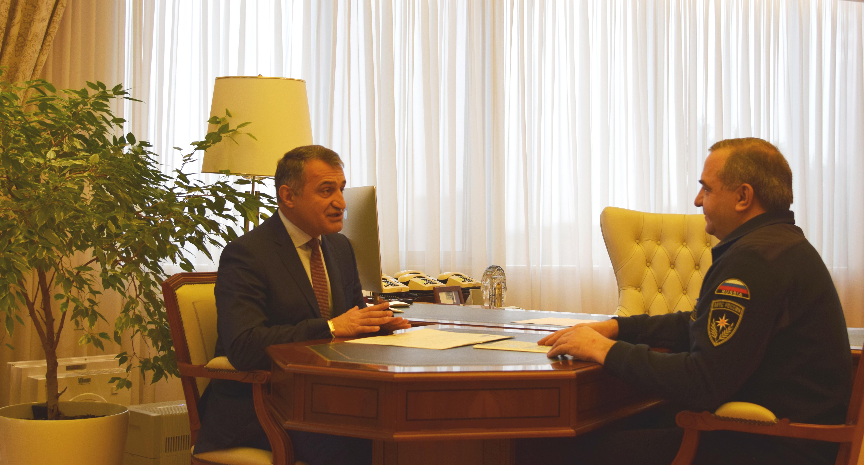 Анатолий Бибилов встретился с Владимиром Пучковым