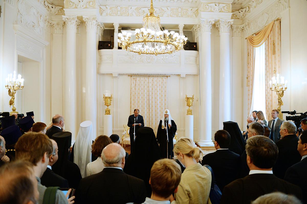 В МИД России состоялся Прием по случаю Православной пасхи