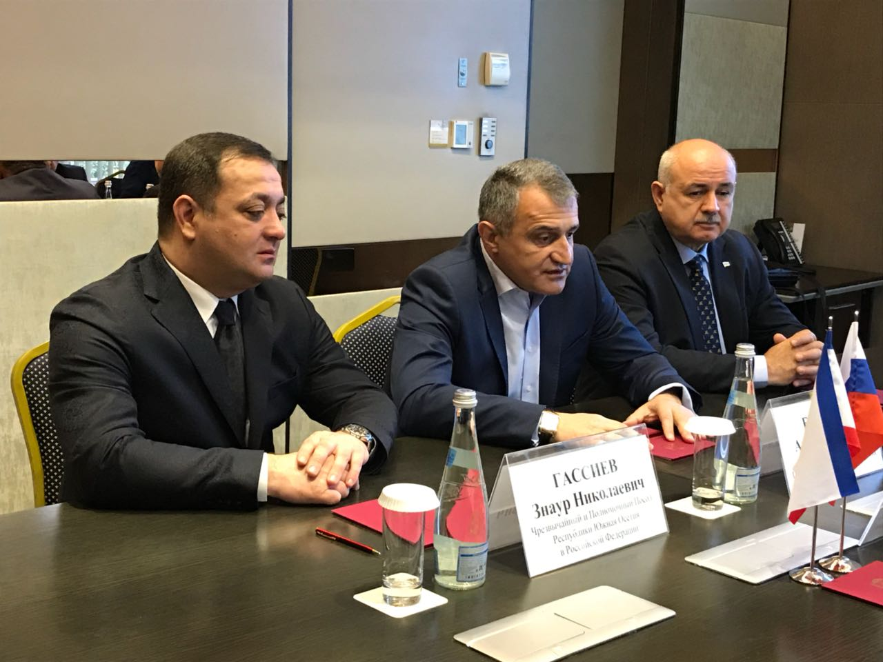 Президент Южной Осетии и Глава Крыма подписали протокол об углублении сотрудничества