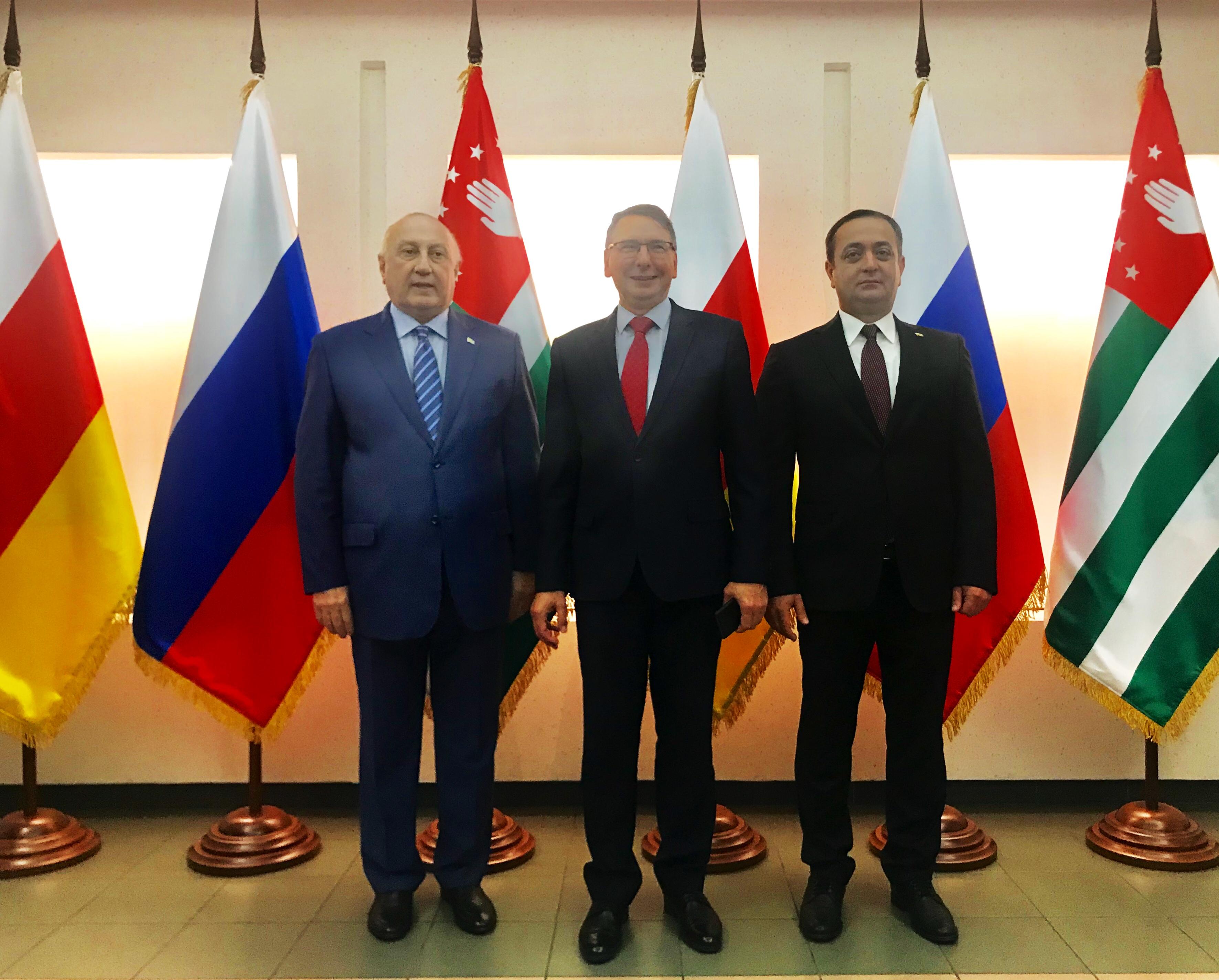 В Москве состоялся  прием по случаю 10-летия признания независимости РЮО и РА  Россией