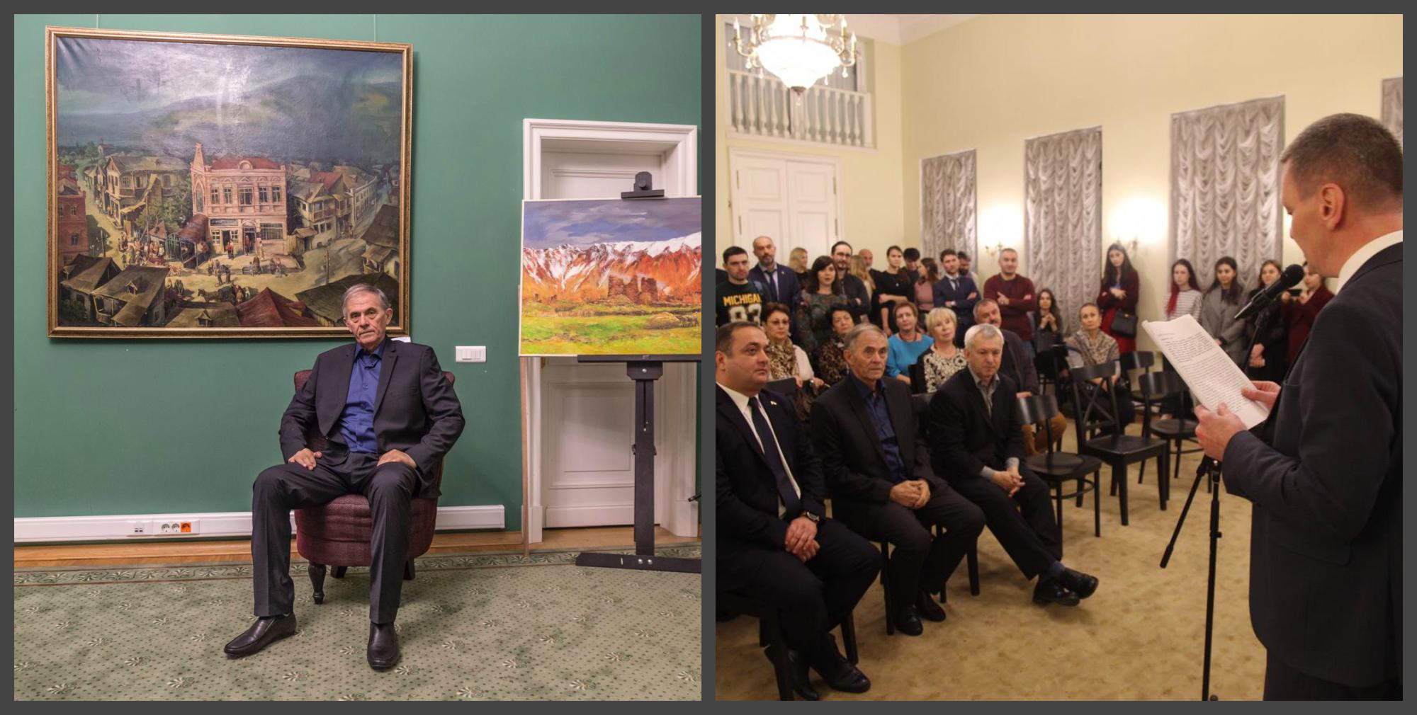 В Москве открылась юбилейная выставка Лаврентия Касоева
