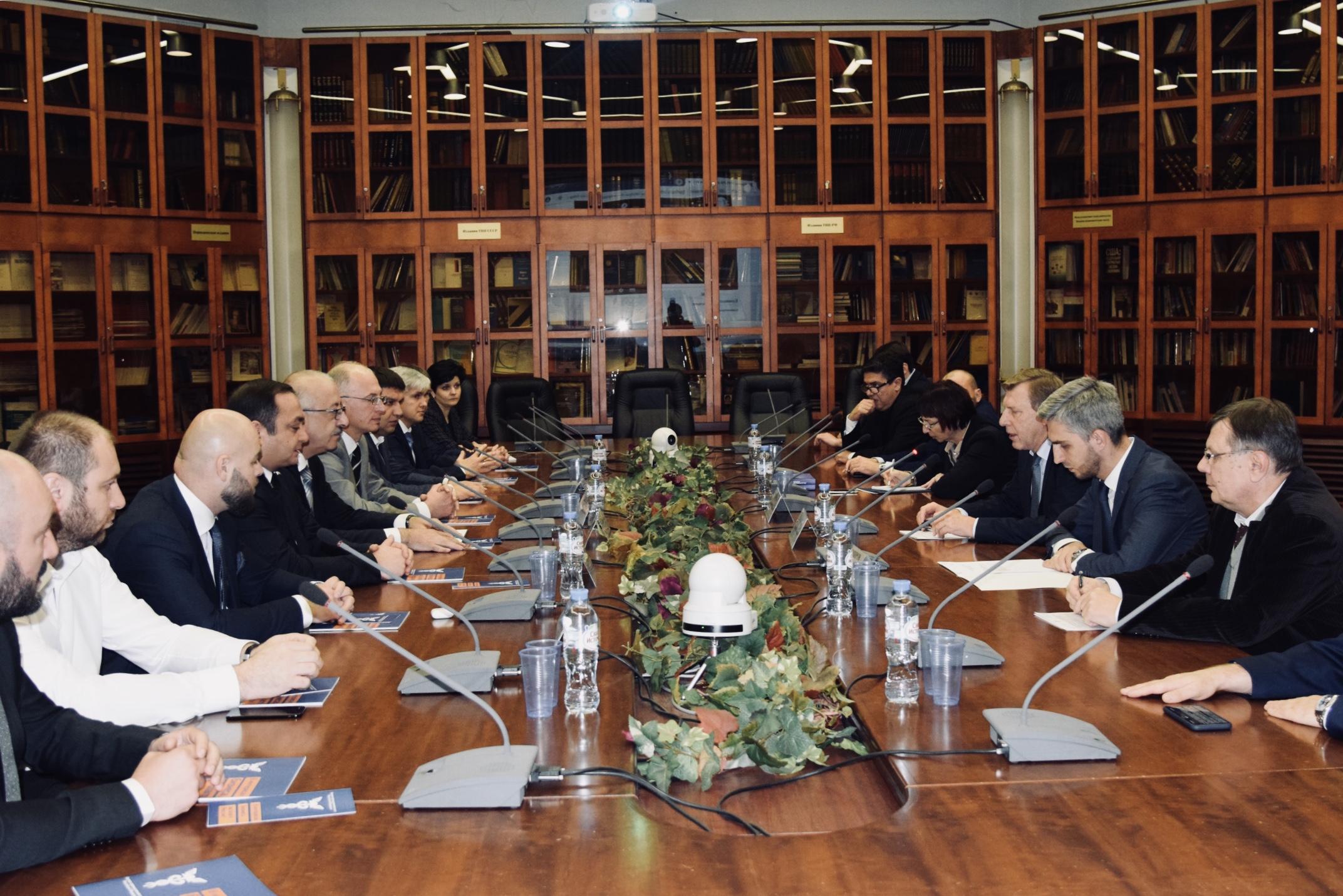 В Москве состоялась встреча представителейторгово- промышленных палат Южной Осетии и России