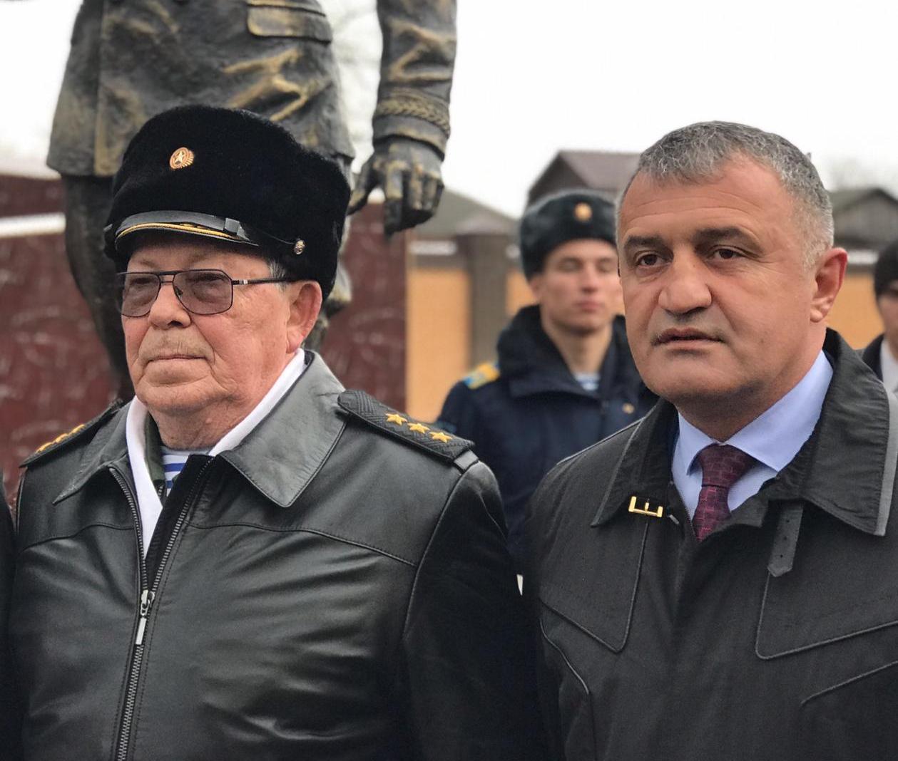 Анатолий Бибилов поздравил РВВДКУ с вековым юбилеем