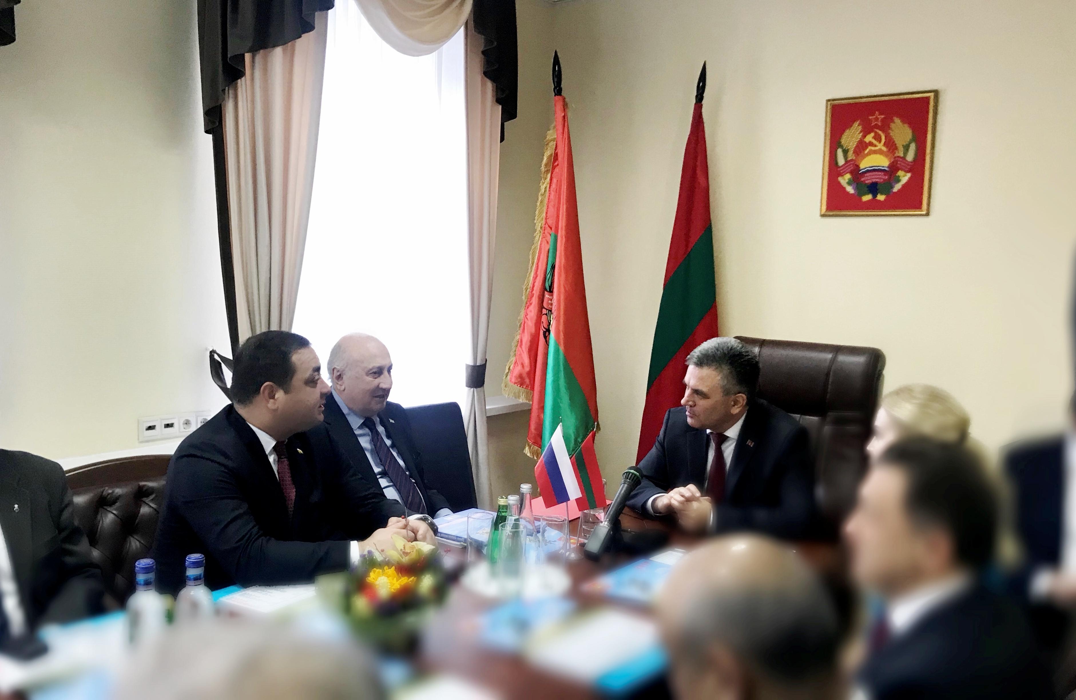 В Москве открылось Представительство Приднестровья
