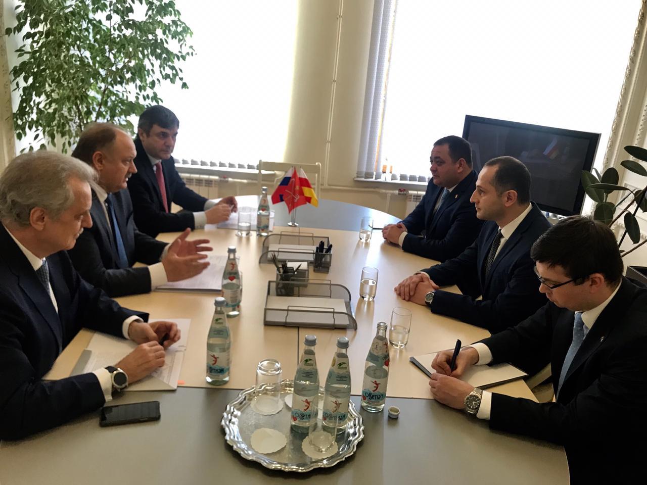Продолжается деловое сотрудничество между Цхинвалом и Санкт-Петербургом