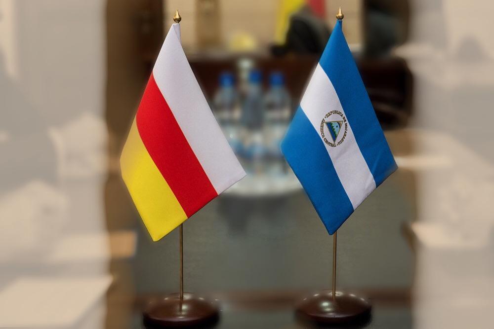 Посольство Южной Осетии поздравило Посольство Никарагуа с 40-й годовщиной победы Сандинисткой революции