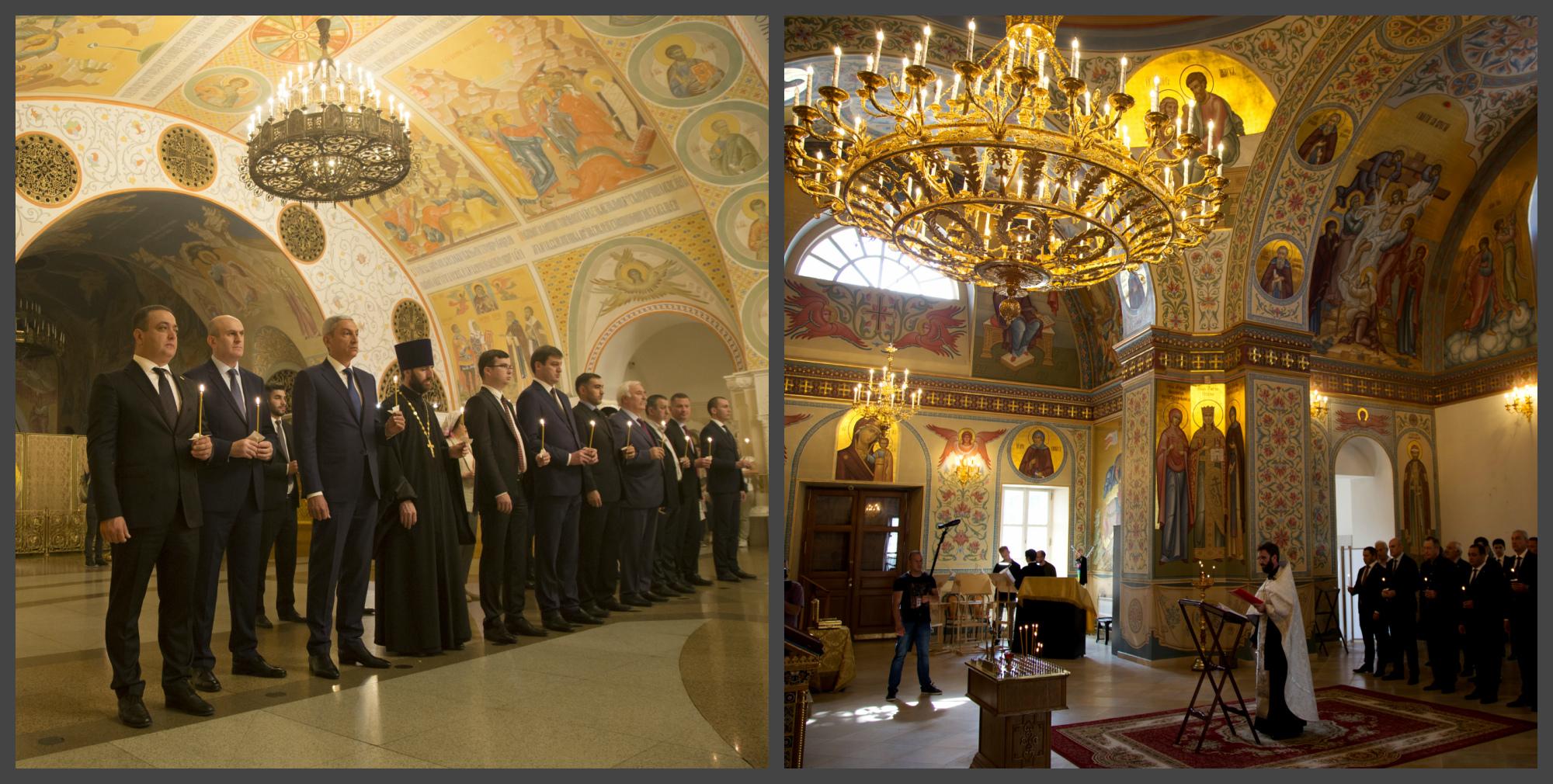 В храмах Москвы прошли  молебны по жертвам грузинской агрессии в августе 2008 г.