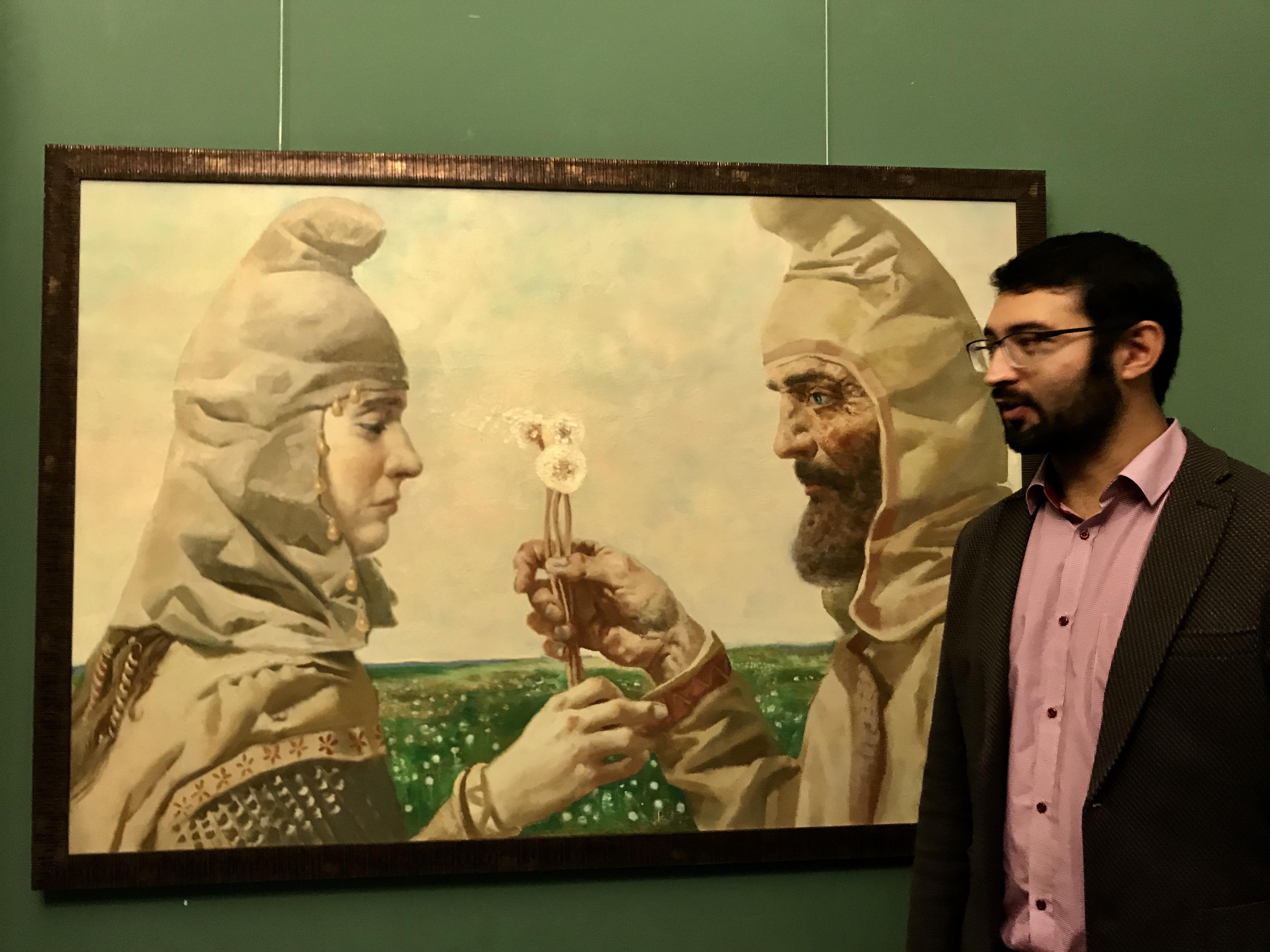 Год осетинского художника в Москве завершается выставкой Вадима Каджаева