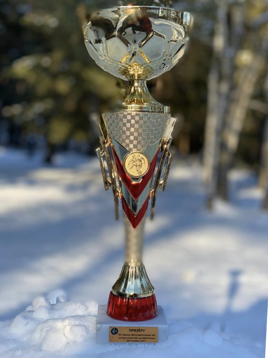 Команда Посольства РЮО стала призером XX Зимних дипломатических игр