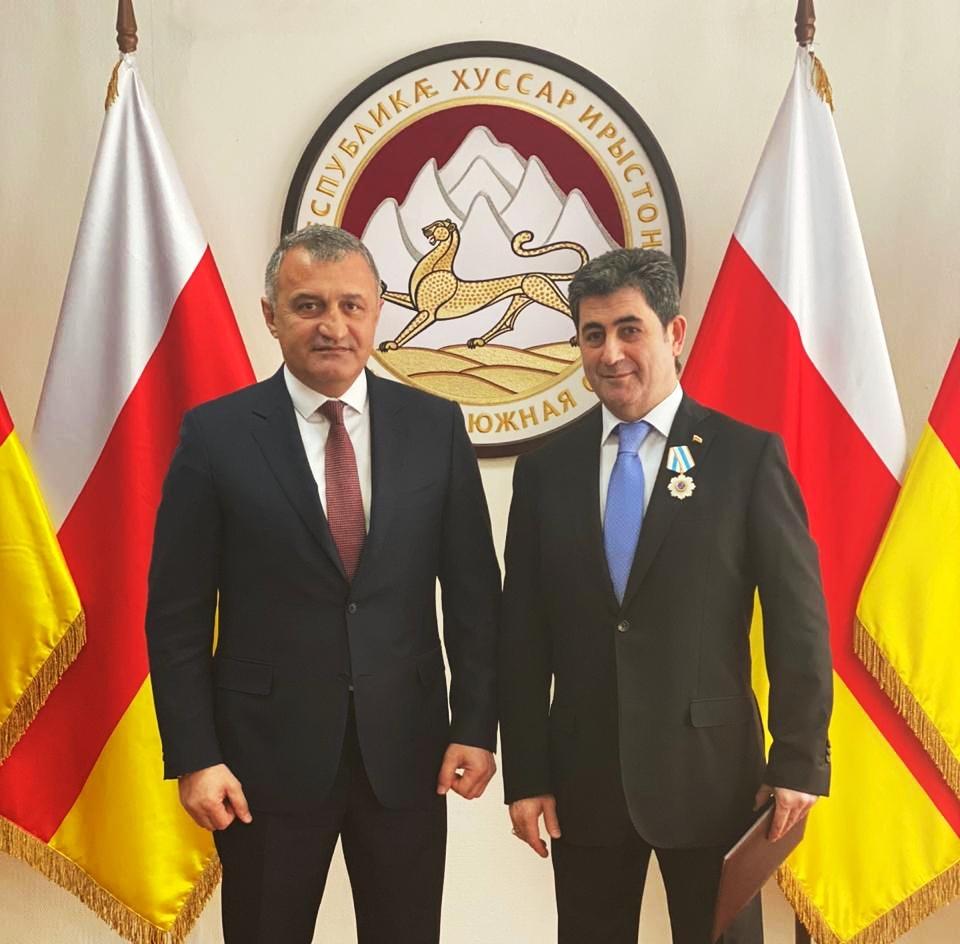 Нарим Козаев награжден Орденом Дружбы