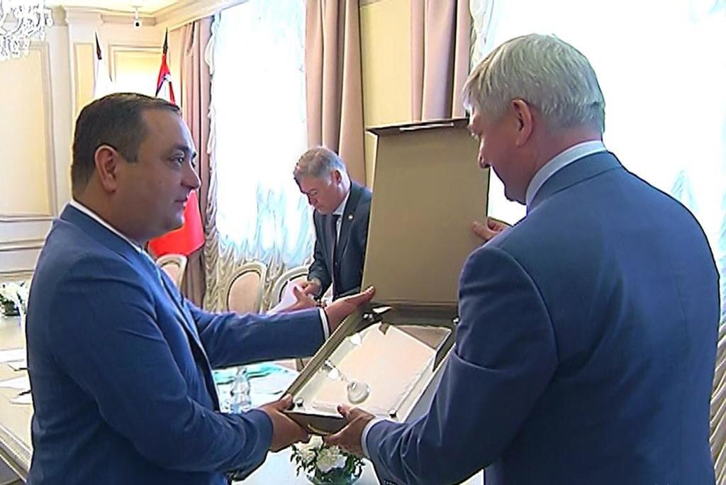 Состоялось подписание Соглашения о сотрудничестве между РЮО и  Воронежской областью